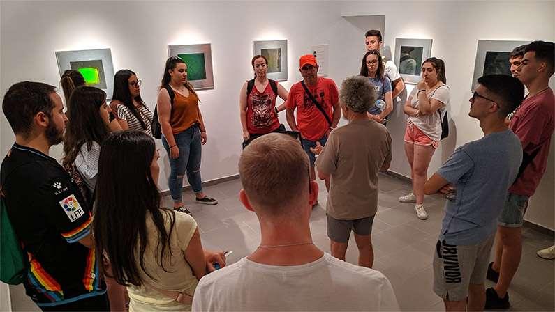 Pepe Buitrago acompaña a los jóvenes de A cal y canto