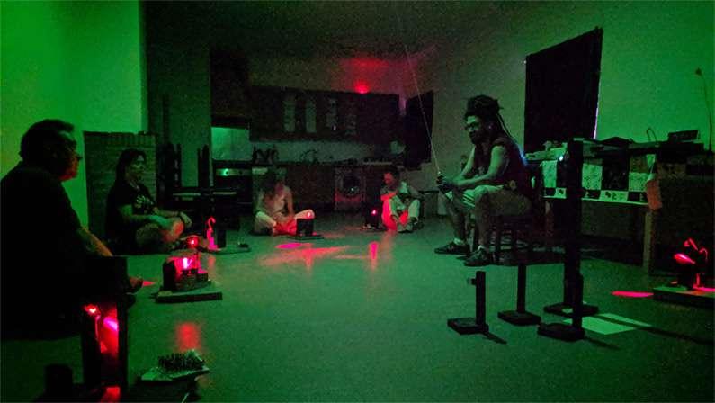 Crean su primer holograma en Centro Dados Negros